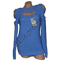 Женский вязаный свитер R782-1 (р-р 46-48) оптом в Одессе. Интернет-магазин Daifa.