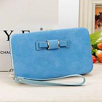 Клатч кошелек Baellerry женский голубой 1318L_Blue, фото 1
