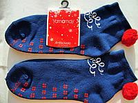 Мужские рождественские носки на подарок для дома с колокольчиками