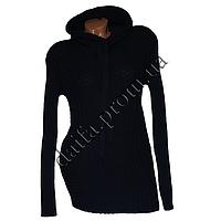 Женский вязаный свитер с капюшоном RV1-1 (р-р 46-48) оптом в Одессе. Интернет-магазин Daifa.