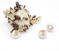 Кулон-пандора из Настоящей Жемчужины, белый