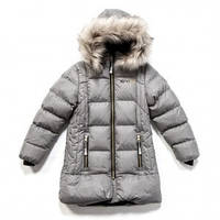 Зимнее пальто  серое, Mid Gray Mix, Nano