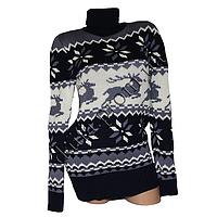 Женский вязаный свитер RV2-1 (р-р 46-48) оптом в Одессе. Интернет-магазин Daifa.