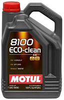 Масло моторное MOTUL 8100 ECO-CLEAN SAE 5W30 (5L)