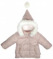Куртка для девочек,  коллекция Гномик, Пудра, Garden baby