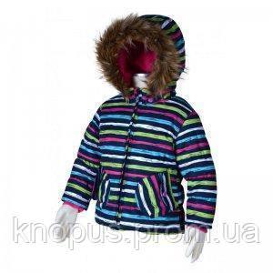 """Зимняя куртка  для девочек """"Параллель"""", Pidilidi"""