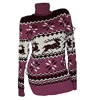 Женский вязаный свитер RV2-2 (р-р 46-48) оптом в Одессе. Интернет-магазин Daifa.