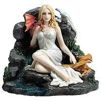 Коллекционная статуэтка Veronese Девушка с драконами WU77109VA