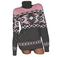Женский вязаный свитер RV3-2 (р-р 46-48) оптом в Одессе. Интернет-магазин Daifa.