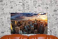 """Фото на холсте """"Нью-Йорк. США"""". 70х40 см."""