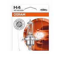 Фирменная надежная  лампа фары H4 OSRAM ORIGINAL 12V  60/55 W Германия