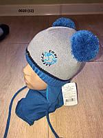 Набор для мальчика  Шапка + шарф 0020 (32)
