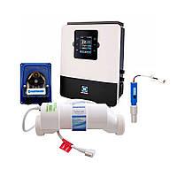 Станция контроля качества воды Hayward Aquarite Plus T3E + Ph на 10 г/час (полностью в разборе)
