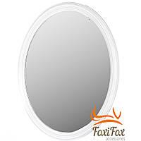Зеркало овальное в раме настенное White Desing, фото 1