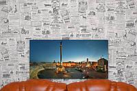 """Картина на холсте """"Киев. Майдан Независимости"""" 60х30 см."""