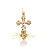 Золотой крестик П03040