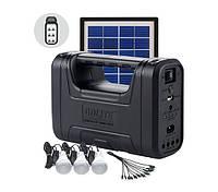 Фонарь солнечная станция Gdlite GD-8007, солнечное зарядное
