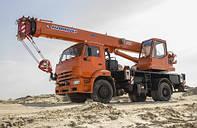 Автокран «КЛИНЦЫ» КС-35719-1-02 на базе КАМАЗ-43253