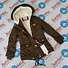 Детская куртка на девочку парка  NATURE