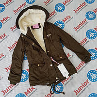 Детская куртка на девочку парка  NATURE, фото 1