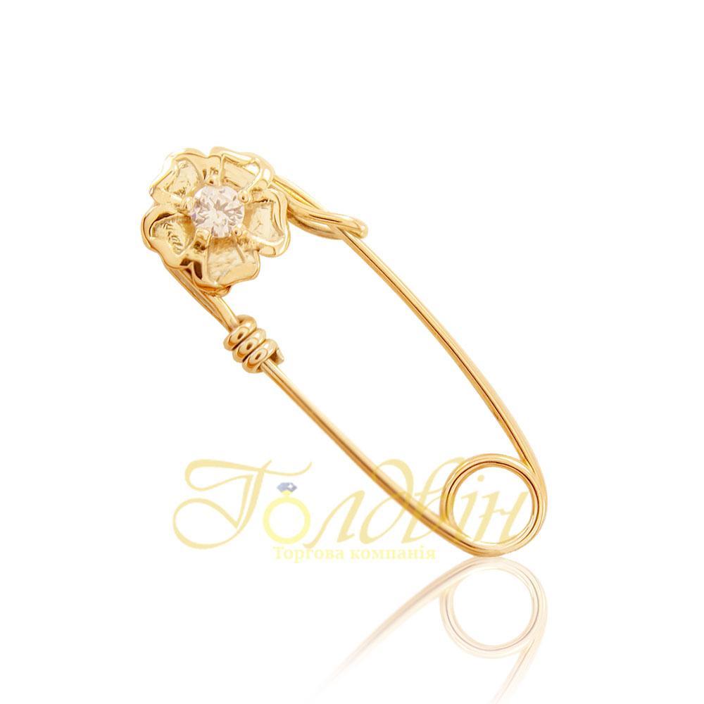 Золотая булавка ПБ106