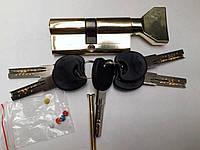 Цинковый секрет (Zamak) с Английским ключём (Normal key) с ПОВОРОТНИКОМ ZNK 60 30/30 PB