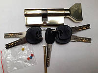Цинковый секрет (Zamak) с Английским ключём (Normal key) с ПОВОРОТНИКОМ ZNK 70 35/35 PB