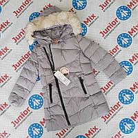 Куртка зимняя на девочку подростковая  оптом GRACE.