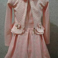 Платье для девочки  ( жакет баска)