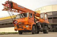 Автокран «Клинцы»  КС-35719-8А на шасси КАМАЗ-53605