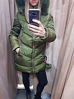 Удлиненная куртка с бубоном YLXSD 2017-2018