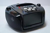 Портативный радиоприемник Junkda 1218, MP5 c SD/USB и видео дисплеем, FM-радио, с USB / SD
