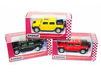 """Детская игрушка металлическая машинка """"Hummer Н2 SUV"""" KINSMART"""