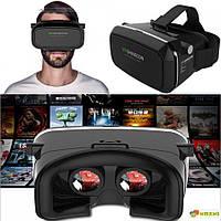 Очки виртуальной реальности для телефона VR Shinecon, с пультом, Хит продаж