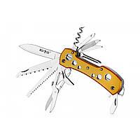 Нож многофункциональный. Ножик туристический. Мультитул 11 функций. Швейцарский нож. Охотничий. Туристический.