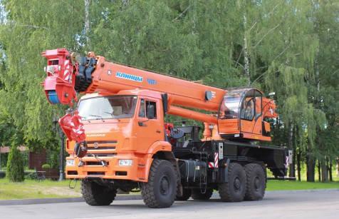 Автокран КЛИНЦЫ КС-65719-5К на шасси КАМАЗ-65222, фото 2