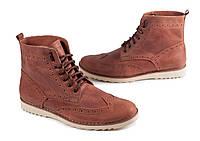 Шкіряне взуття Shamrock - 20.11 Brown (Зимние кеды\ботинки\обувь\тимберленд)