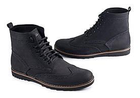 Шкіряне взуття Shamrock - 20.11 Black (Зимние кеды\ботинки\обувь\тимберленд)