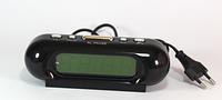 Настольные электронные часы CX 818 yellow green, будильник