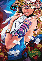 "Картина по номерам ""Алиса"" [35х50см, Без Коробки]"