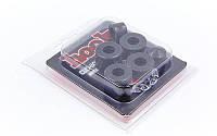 Набор подушек (прокладок) для трака скейтборда SK-2166 (PVC, 2 прокл. 16in +2 прокл. 13in +2 колп.), фото 1
