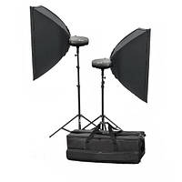 Набор студийного света Mircopro MQ-150 KIT (2х150 Дж)