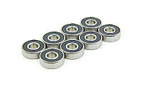 Набор подшипников АВЕС-9 (8шт) для скейтборда Penny SK-4064 (металл, 8шт ABEC-9, в пласт. футляре)