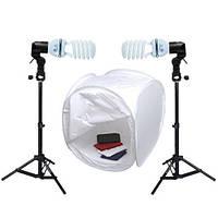 Набор света для предметной съемки F&V 80х80х80 см (1400 Вт)