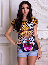 Женсая футболка Тигр