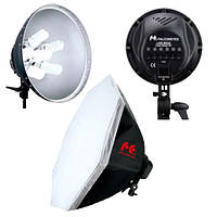 Комплект студийного света Falcon LHD-B628FS с рефлектором