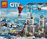 Конструктор серии Lele 39016 (АналогLEGO City Остров-тюрьма 60130)