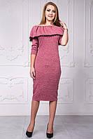 Теплое платье подойдет для деловой встречи