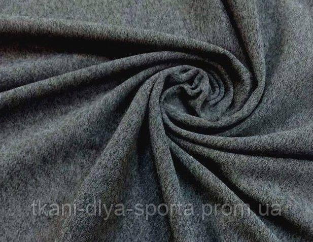 Бифлекс матовый графитово-серый меланж