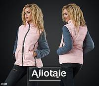 Куртка женская демисезон,норма-батал, р.44,46,48,50,Ajiotaje